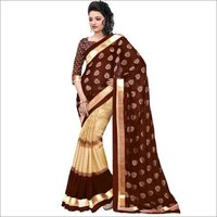 Foil Cotton silk saree