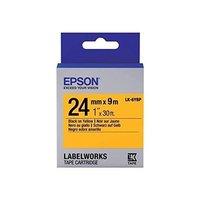 Epson LW Tapes- LK-6YBP- 24mm