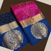 Kanjivaram Silk Cotton saree