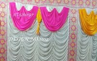 Fancy parda design tent