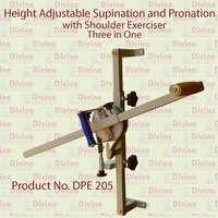 Height Adjustable Supination and Pronation with Shoulder Exerciser