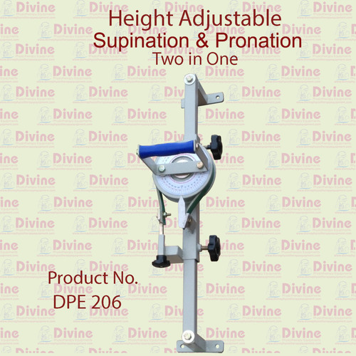 Height Adjustable Supination and Pronation