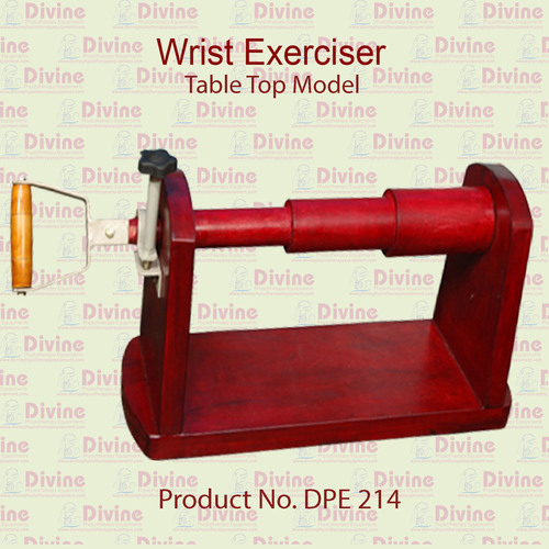 Wrist Exerciser with Table Top Model