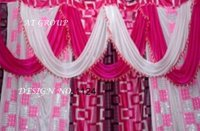 Latest tent parda fabric