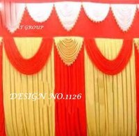 Wedding tent parda