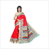 Fancy Bhagalpuri Printed Saree