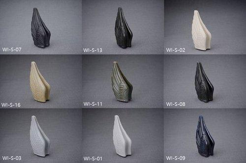 Aluminium Hand Painted Funeral Urn