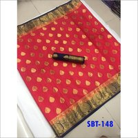 kanjivaram Nylon Silk Saree