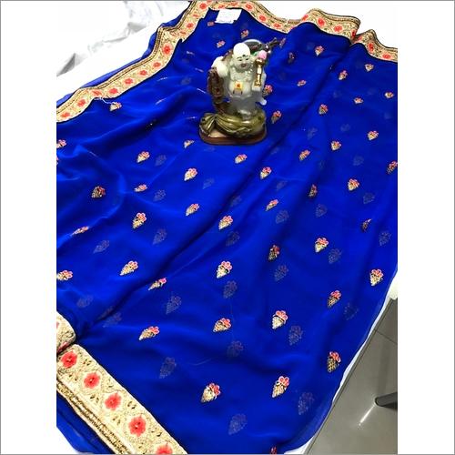 Description Work saree