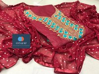 Latest Designer Cotton Dress Materials