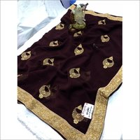 Supar Work Silk saree