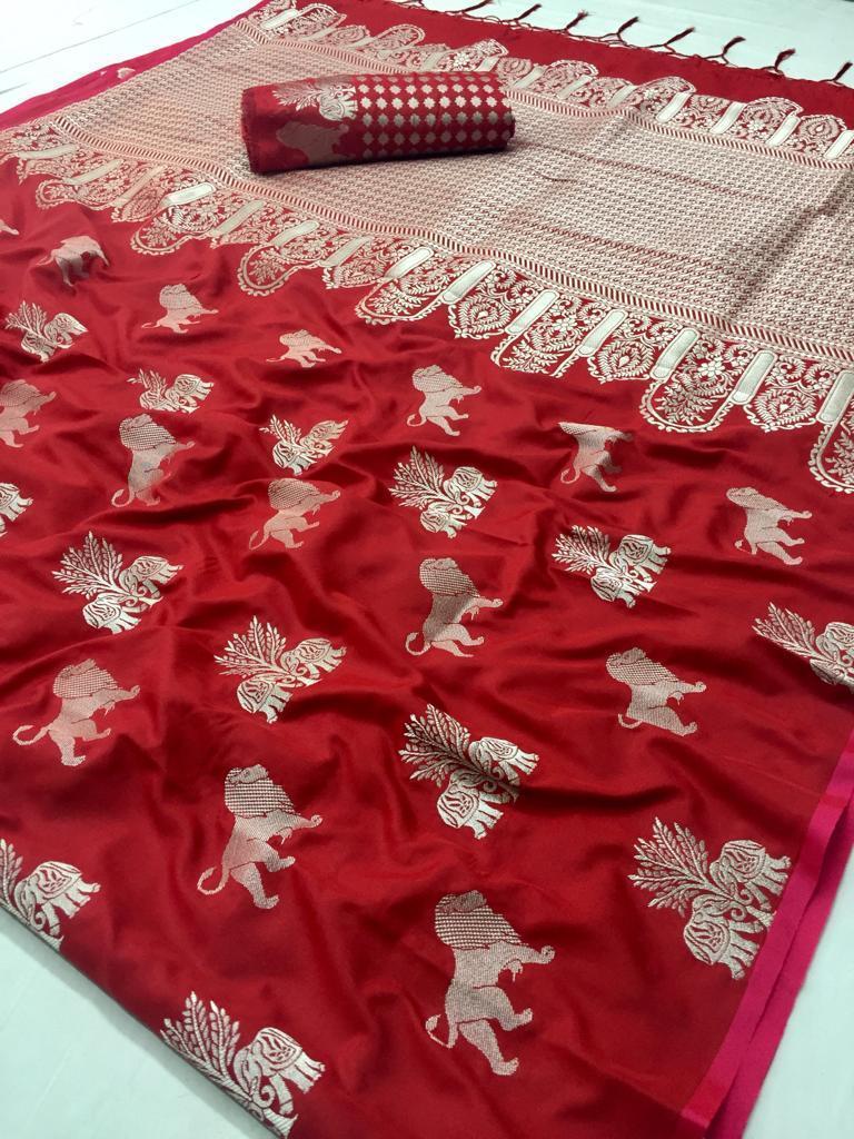 Fancy Pure Silk Saree