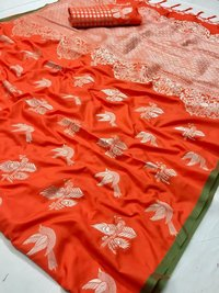 Fancy Pure Silk Saree
