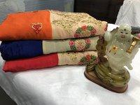 Heavy Georgette Silk saree