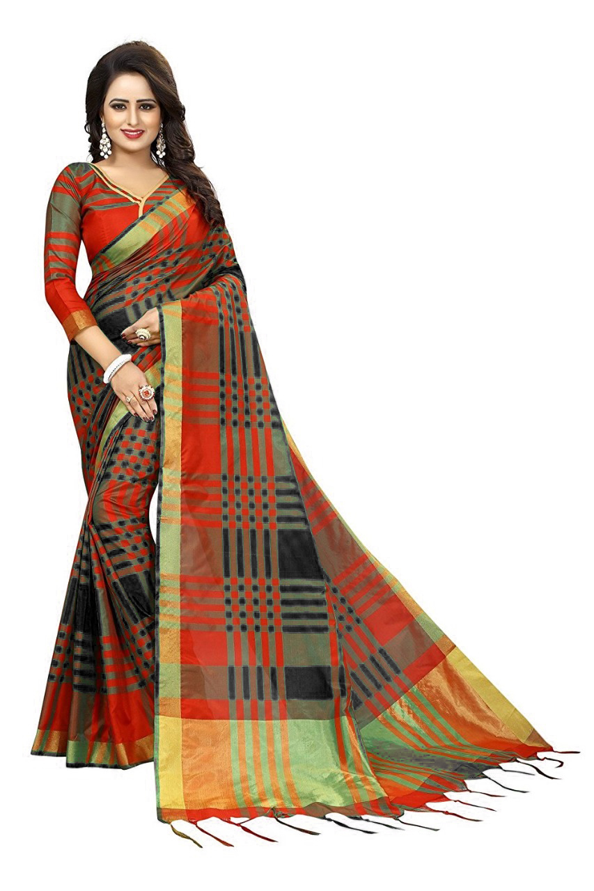 Asam Chokada Design 1 Nyloan Saree