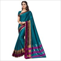 Diemond Collection jacquard Poly Silk Saree