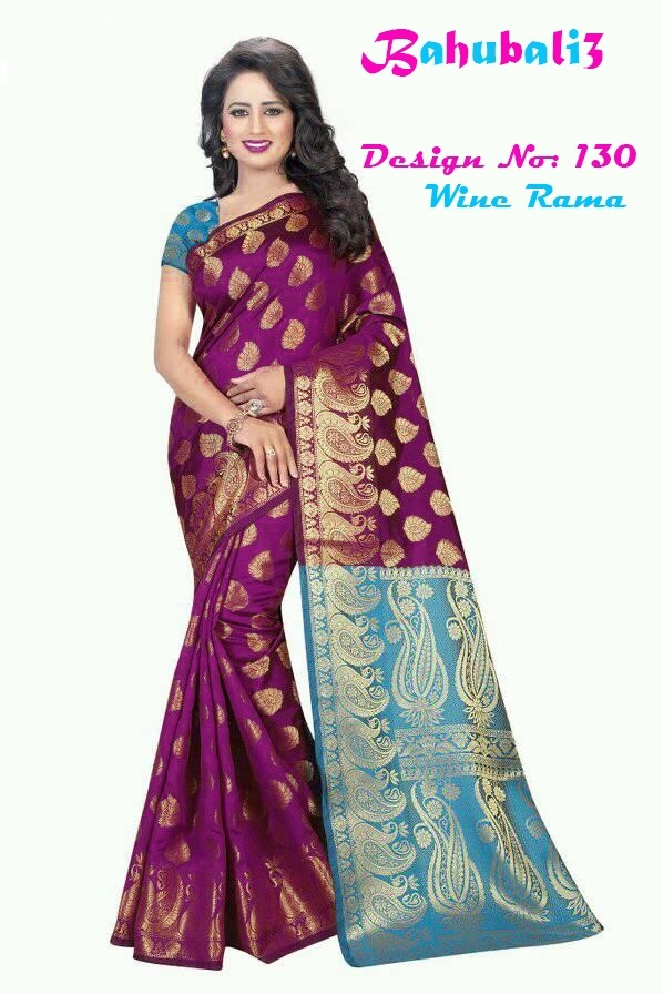 New Bhaubali Silk Saree