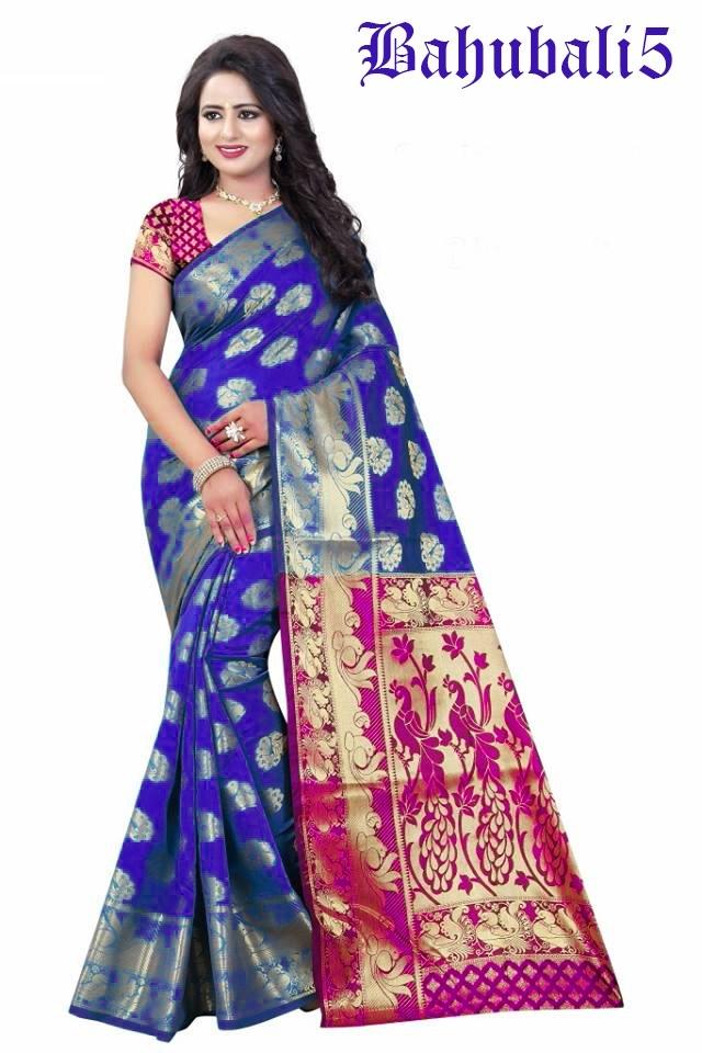 Bhaubali Design Cotton saree