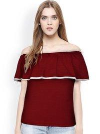 Designer Plain Girl T Shirt