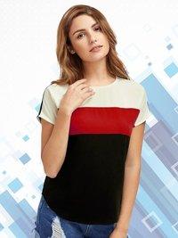 Designer Plain Round Neck T Shirt
