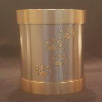 Tea Light Urn Silver