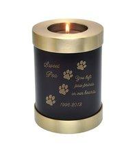 Pet Memorial Candle Holder Dog Urn