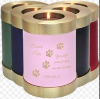 Customizable Memorial Candle Pet Urn