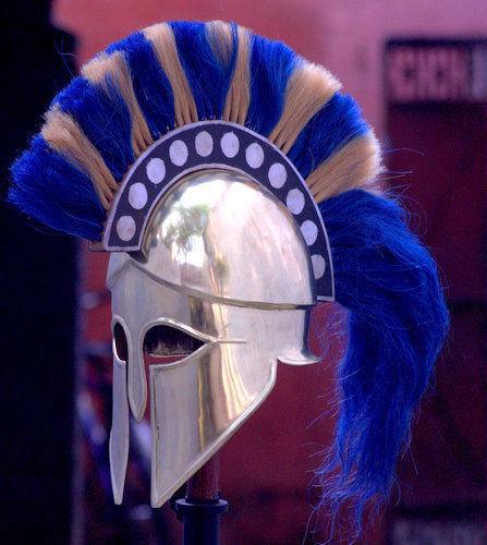 Medieval Greek Corinthian Helmet
