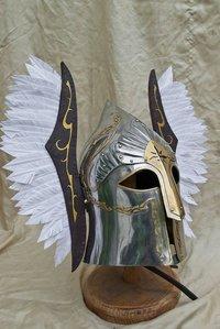 Lotr Gondor Helmet Fountain Guard SCA helmet LARP armor sca Steel helmet