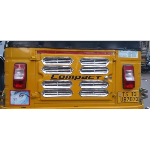 0128 REAR DOOR GRILL SHOW COVER SS