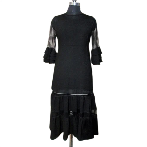 Black Western Gown Sleeves