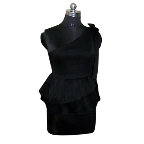 Western Black Dress