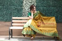 Ladies Raw Silk Saree
