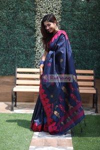 Ladies Raw Silk Saree