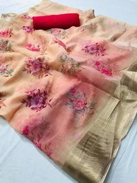 Latest Digital Printed Saree