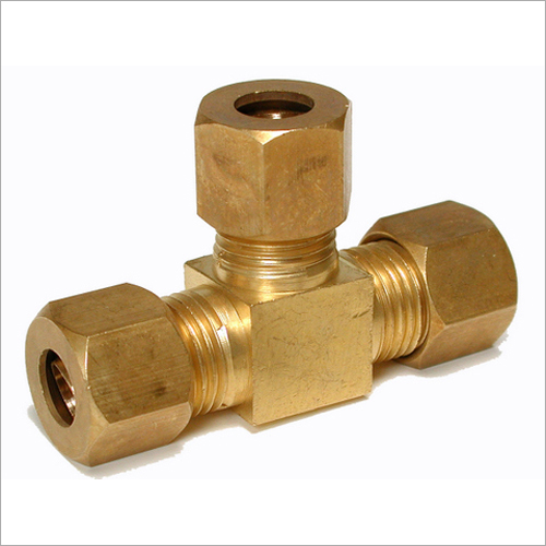 Brass T Shape Geyser Parts