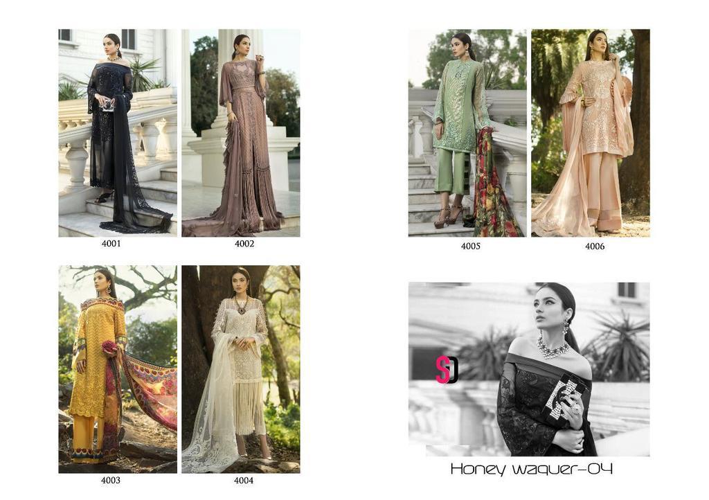 Fancy Designer Georgette Suits