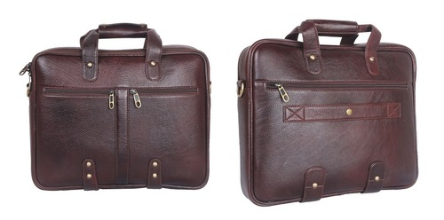 Customized Laptop Leather Bag