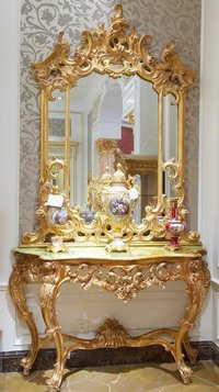 Golden Dressing Table