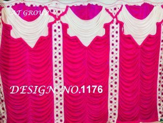 Wedding mandap parda decoration