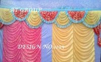 Parda decoration for marriage hall