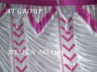 Tent house parda cloth design