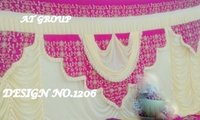 Latest tent parda designs photo