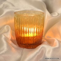 GLASS T LIGHT CANDLE
