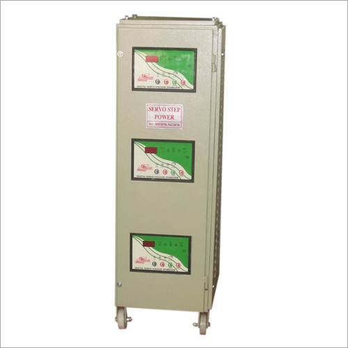 3 Phase Air Cooled Servo Voltage Stabilizer