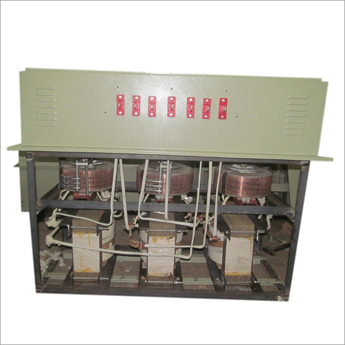 3 Phase Oil Cooled Servo Voltage Stabilizer Open Side