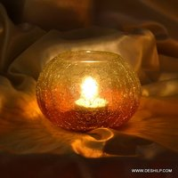CRACK GLASS VOTIVE
