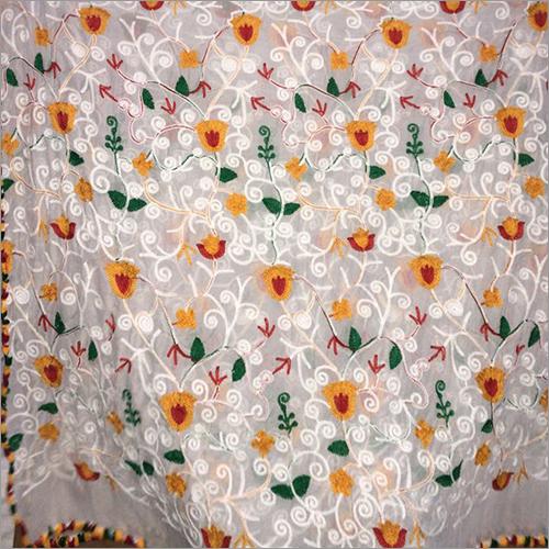 Multi Nylon Mesh Bleach Nazneen Fabric
