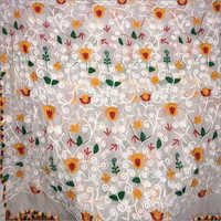 Nylon Bleach Multiwork Nazneen Fabric