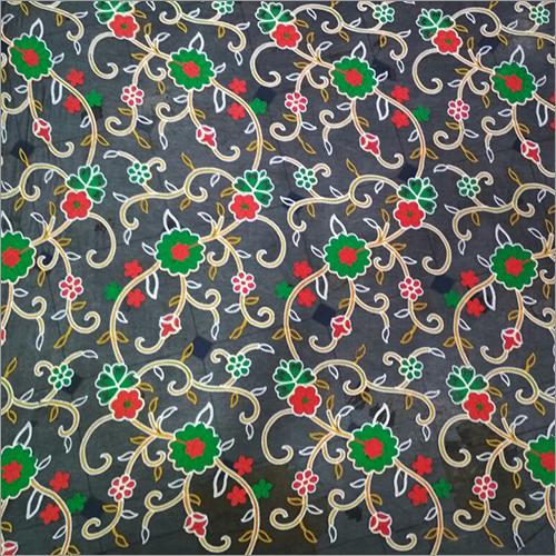 Multiwork Nylon Dyed Nazneen Fabric